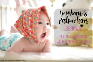 newborn essentials, postpartum essentials, baby, infant, essentials,