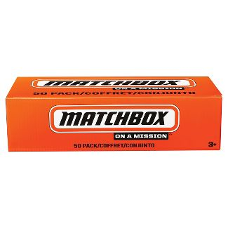 Matchbox 1:64 Diecast 50 Car Pack