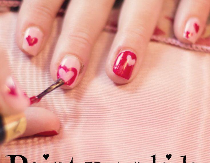 nail polish, paint strips, parchment paper, hacks, nail art