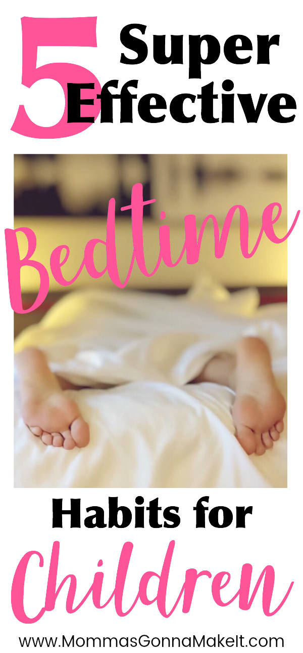 5 Super Effective Bedtime Habits for Children