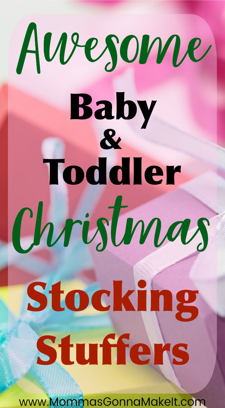 Awesome Baby and Toddler Stocking Stuffers