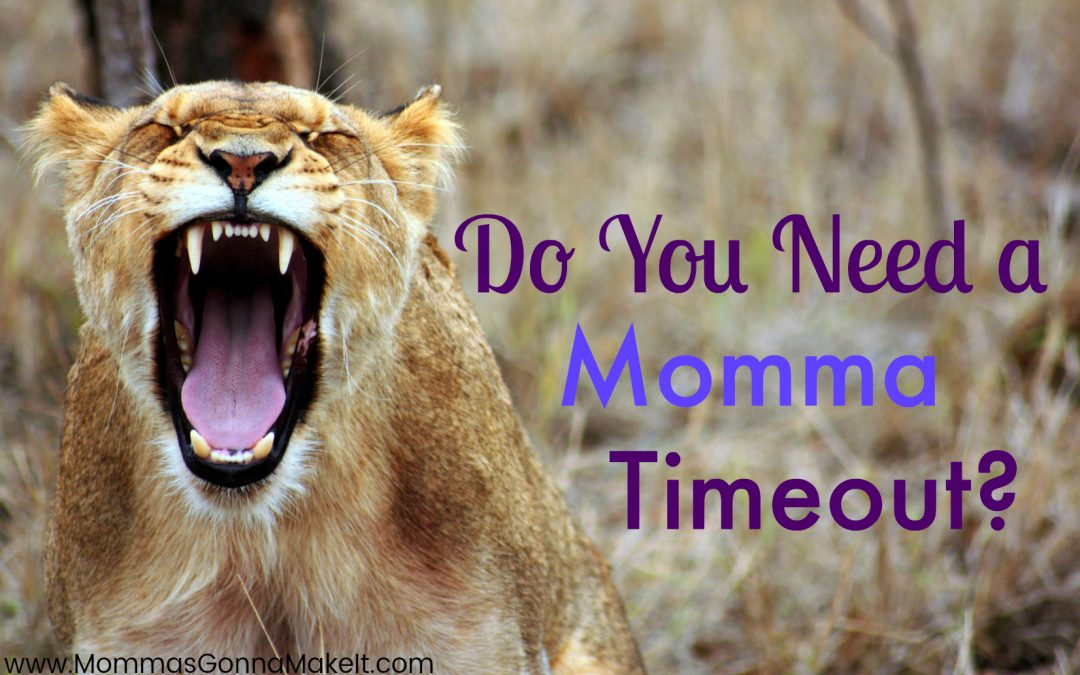Do You Need a Momma Timeout?