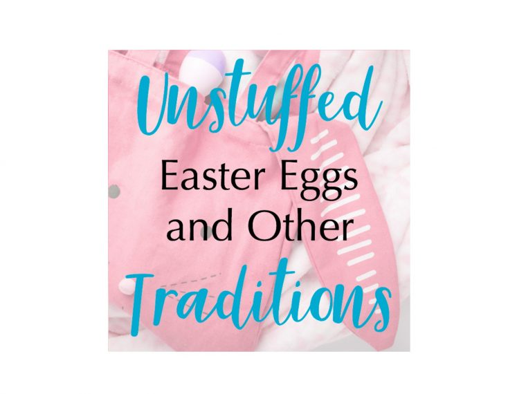 Unstuffed Easter eggs, easter, traditions