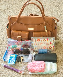 2 diaper bags, car diaper bag, car bag, car and carry solution