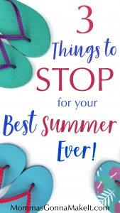 Summer, habits, quit, intention, goal,