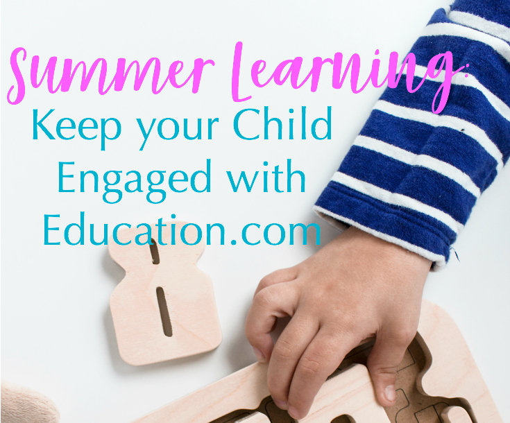 Summer Learning: Keep your Child Engaged with Education.com!