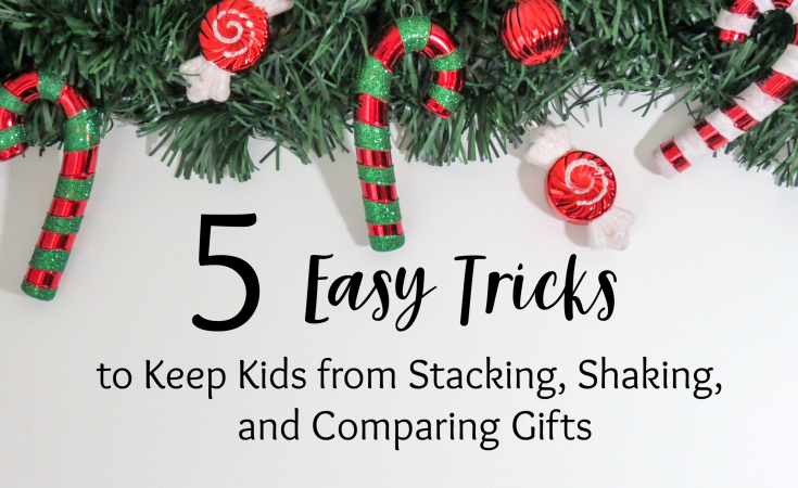 Christmas, presents, gifts, kids, tree, toys, gift wrap, bows, ribbon, decorations, prevention, stacking, shaking, comparing, poking, playing with presents