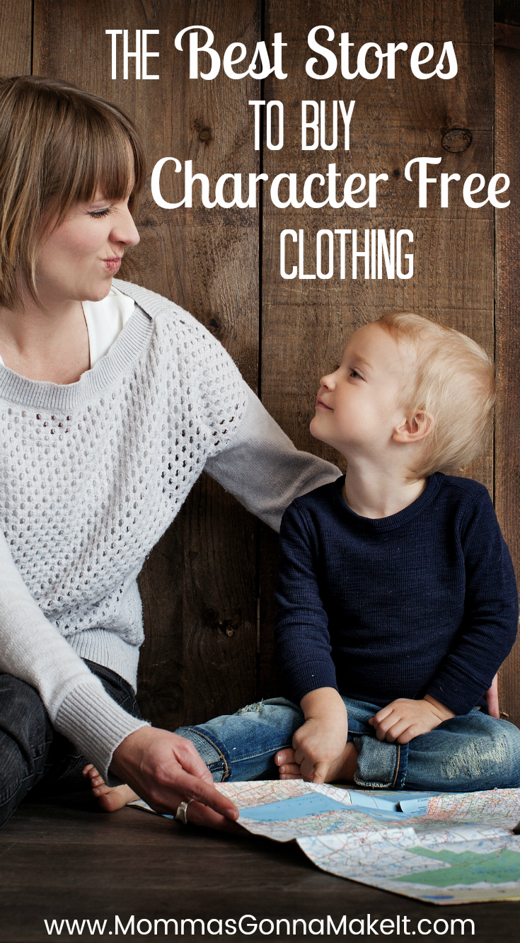 The Best Places to Buy Character Free Kid Clothes