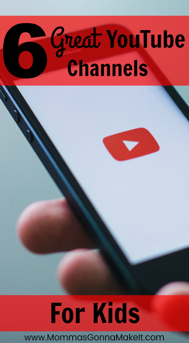 6 Great YouTube Channels for Kids