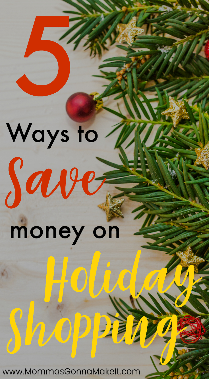 5 Ways to Save Money on Holiday Shopping