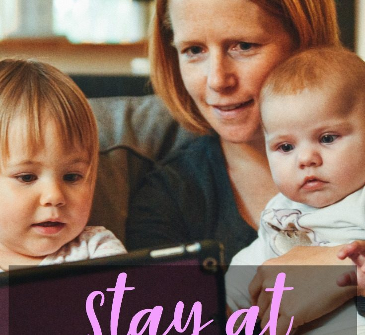 How to Beat Stay at Home Mom Syndrome